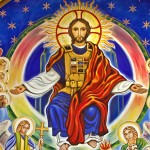 Christ center throne copy